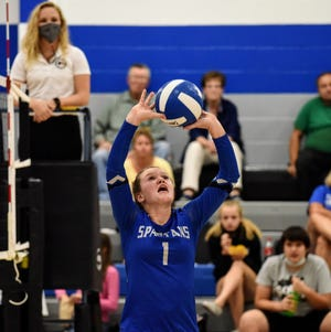 Senior setter Kenzi Wierson provides tremendous leadership and comic relief for a Collins-Maxwell volleyball team getting ready to begin its first season under Casady Myers.