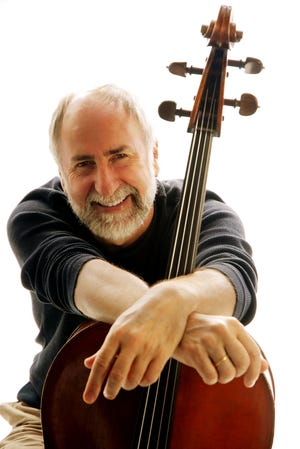 The concert in Harmony on Friday by Grammy award-winning cellist Eugene Friesen has been moved from the wine cellar of the Harmony Museum to Grace Church of Harmony on Main Street. The concert will start at 8 p.m., with an artist reception at 7 p.m. across the street at Stewart Hall. Tickets are $35 for adults, $30 for Harmony Museum members, and $25  for students, and are available at https://harmonymuseum.org, or by calling 724-452-7341. Masks are recommended for those attending the concert.