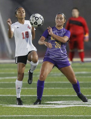 Senior Olivia Dulay is a defensive leader for Reynoldsburg, which is counting on its defense to set the tone as the offense matures. The Raiders lost top scorers Ryanne Buck and Cassidy Collins to graduation.