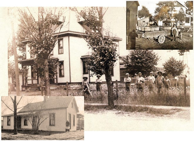 One of the original homes in Grandview was on the northeast corner of what is now Grandview and First avenues. The home was on the Charles Salzgaber farm and was built in 1903. Three generations of Salzgabers occupied the home until it was sold in 1984.