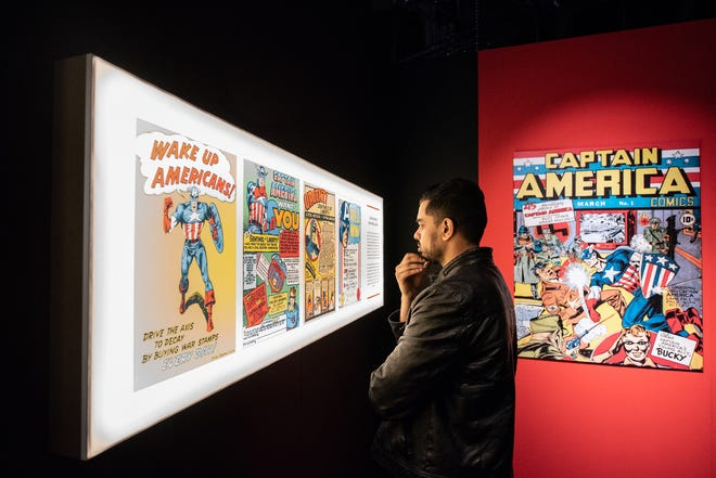 """The """"Marvel: Universe of Super Heroes"""" exhibition will run from November to May at COSI."""