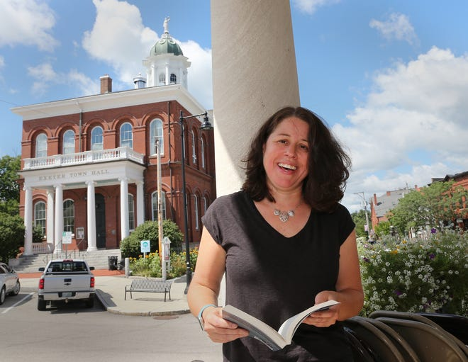 """Lara Bricker recently wrote a new book called """"Dead on Deadline"""" in which Exeter serves as the backdrop."""