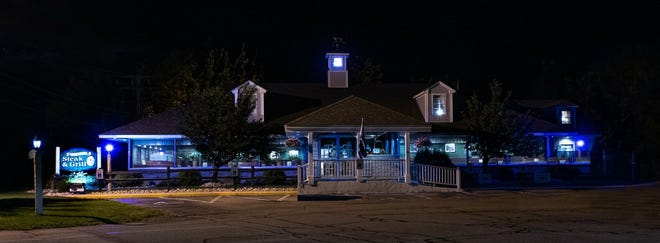 Granite Steak & Grill in Rochester is one of the businesses who participated in Paint The City Blue to honor Rochester city police last year. The business will participate again this September.