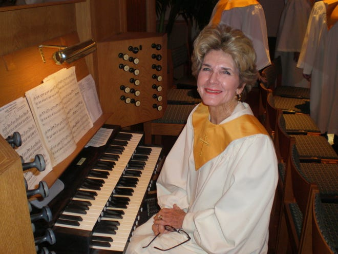 Caroline Reddick is retiring after 50 years of playing the organ for First United Methodist Church in Lake Wales.