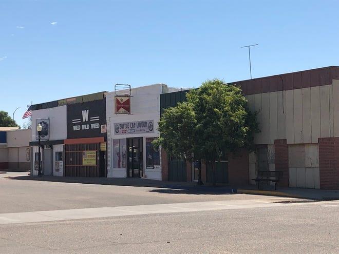 Downtown Las Animas along Carson Avenue