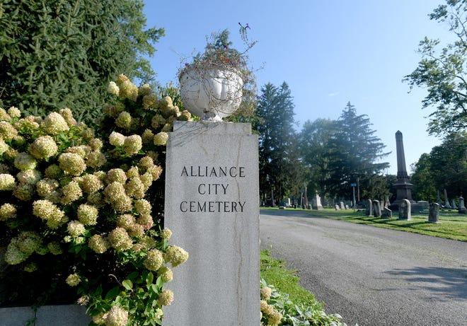 The Alliance City Cemetery.  Tuesday, August 24, 2021.