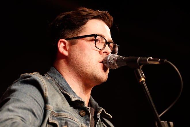 """Daniel Deitrich is a South Bend-based singer-songwriter who has organized a """"South Bend Writer's Round"""" at Stockroom East in South Bend on Aug. 28, 2021. Local songwriters Seth Creekmore and Nathaniel FitzGerald also will perform."""