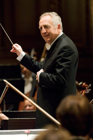 Bramwell Tovey, a longtime conductor for the BBC Concert Orchestra and former music director of the Vancouver Symphony Orchestra, is the new music director for the Sarasota Orchestra.