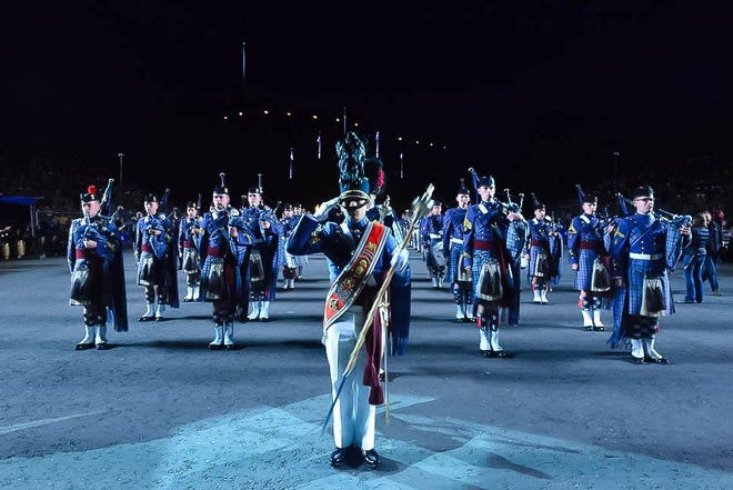 The Citadel Regimental Band and Pipes