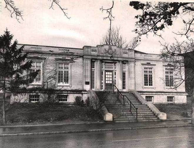 This undated photo shows the South Worcester branch of the Worcester Public Library. It was one of three city branches funded by a donation from Andrew Carnegie.