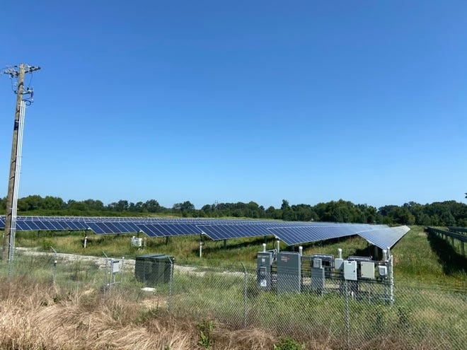Phase I of Alma's solar project was finalized in January. The city was able to find new land for Phase II after previous areas were found not to be suitable for the project.