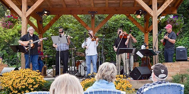 Fiddles and Friends play the Goss Opera House in Watertown on Thursday.