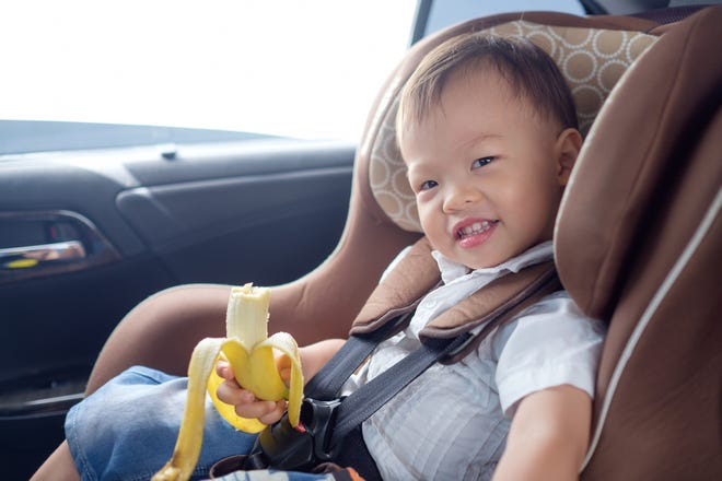 Pack health snacks ahead of time so you and your children won't be tempted by fast food and convenience store offerings.