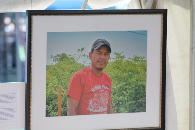 A new exhibit at this year's Sandusky County Fair explores the important role local migrant farm workers play in bringing food to people'stables and brings their personal stories to a wider audience.