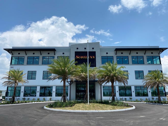 Scotlynn USA Division Inc.'s North American corporate headquarters at 9597 Gulf Research Lane in Fort Myers.