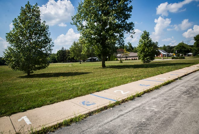 The former site of Storer Elementary School on Mansfield Road in Muncie Tuesday, Aug. 24, 2021.