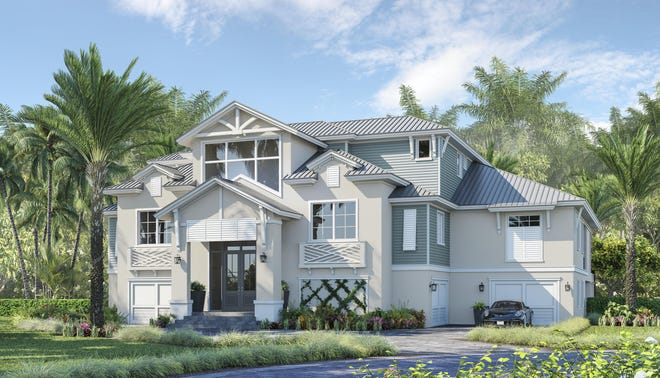 Theory Design is creating the interior design for Seagate Development Group's furnished Cape Romano model at Hill Tide Estates.