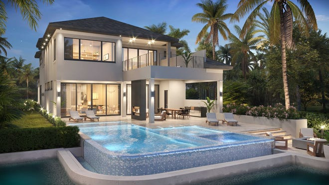 Seagate Development Group will break ground on a custom home in Isola Bella at Talis Park next month. It will feature the Monterey II floor plan.