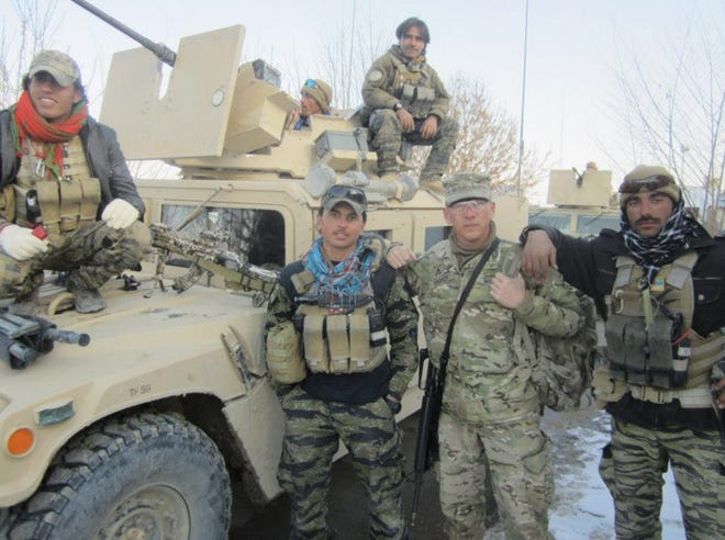 Granville Chief of Police William Caskey completed two tours of Afghanistan.