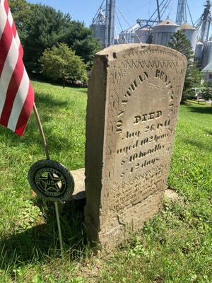 Five of the 22 American Revolutionary War veterans buried in Granville will be honored on Sept. 4.