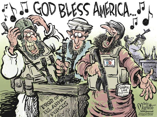 Marlette cartoon: Made in the U.S.A.