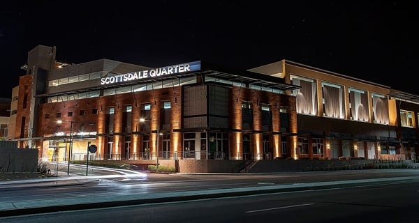 Scottsdale Quarter, where Landmark Theatres is opening.