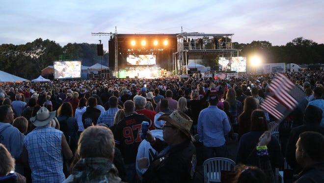 An estimated 12,000 country music fans packed the Put-in-Bay Airport for the inaugural Bash on the Bay in 2017. The festival has since continued to grow and returns to the island Wednesday and Thursday.