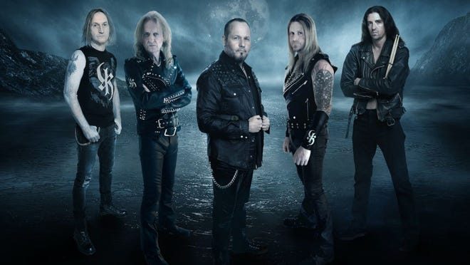 """KK's Priest, featuring ex-Judas Priest members KK Downing and Tim """"Ripper"""" Owens, has released their fourth single, """"Raise Your Fists."""" The band's album, """"Sermons of the Sinner,"""" is set for an Oct. 1 release."""
