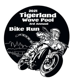 The third annual Tigerland Wave Pool Bike Run will be held at noon August 28.