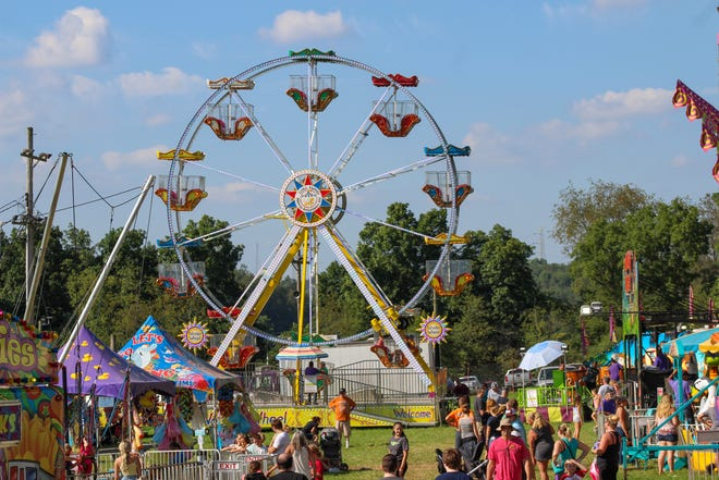 For younger fair fans, kid friendly rides are available near the main pavilion at the Hookstown Fair, running from Aug. 24-28.