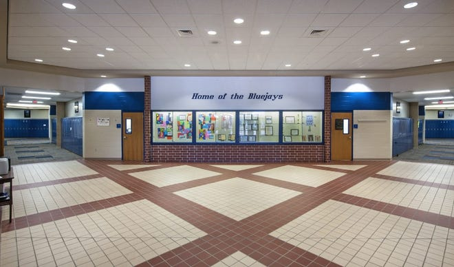 Walk-in entrance at Augusta Middle Schools