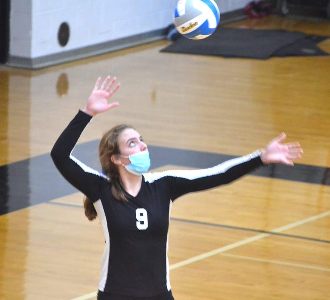 Cheboygan senior Kyla Thater is one of the top area volleyball players returning this season.