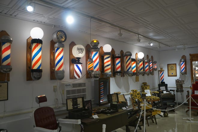 The National Barber Museum and Hall of Fame in Canal Winchester, Ohio.