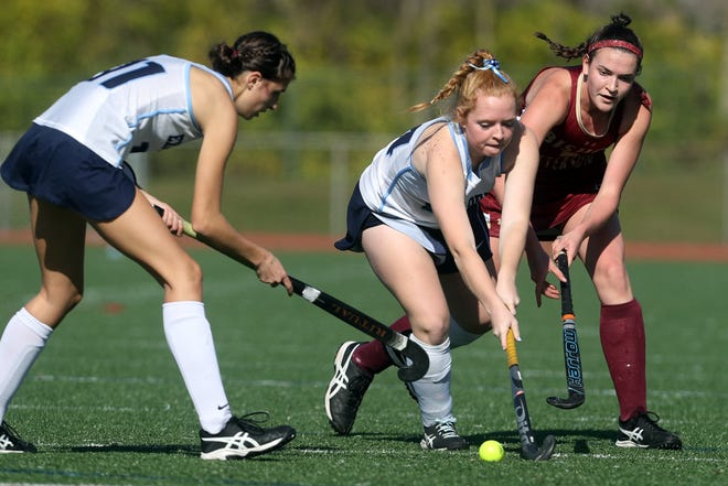 Senior center midfielder Molly Griffith (right) is one of the top returnees for Watterson, which captured its fourth state championship last season and third under coach Janet Baird.
