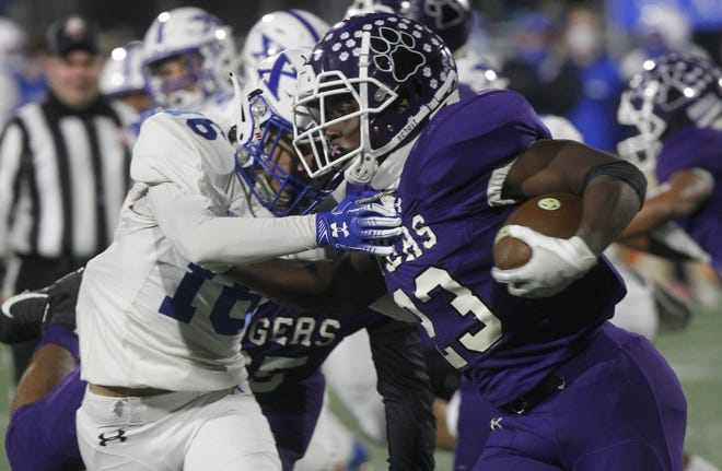 Pickerington Central's Olando Kamara rushed for 178 yards in a 26-7 win over Massillon Washington on Aug. 20. The Tigers play host to Cincinnati Elder on Aug. 27.
