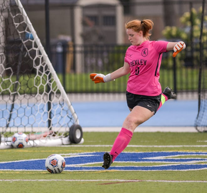 Goalie Katie Jude is one of 11 seniors for Bexley, which hopes to win its first Division II district title since 2013 after losing in a district final last season. Jude had 52 saves and seven shutouts last fall as the Lions went 10-4-2.