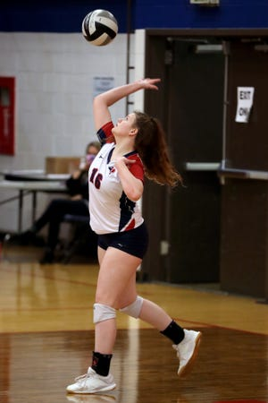 Senior Scarlett Rahrig and Grove City are looking to extend the program's string of consecutive winning seasons. The Greyhounds haven't had a losing record since 2007,when they went 9-14.