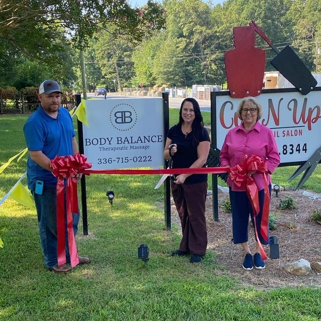 The ribbon-cutting opened a new door of opportunity for Pike to share her knowledge.