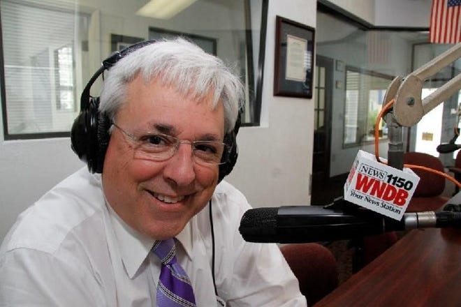 Radio host Marc Bernier, shown in 2014, lost his battle with COVID-19, WNDB and Southern Stone Communications tweeted Saturday night. Bernier had been hospitalized with COVID-19 for about three weeks.