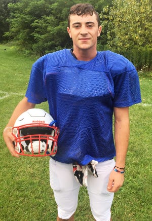 Carbondale Area's Vincent DePalma will play a major role on both sides of the ball this fall. The junior will start at tailback on offense and inside linebacker on defense.