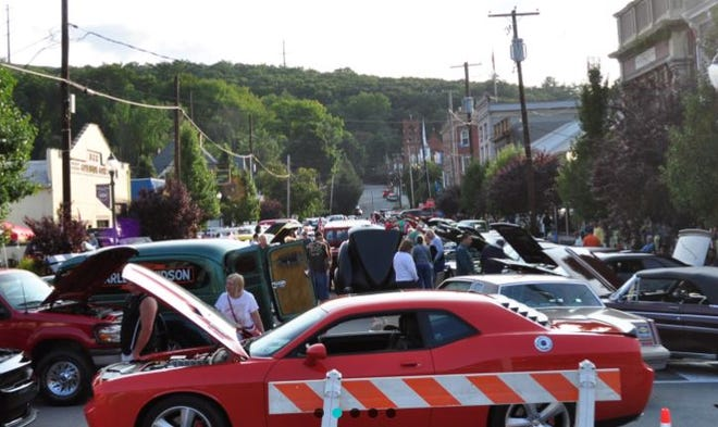 Open Car Cruise, Church Street, Hawley takes place Saturday, 4 p.m. – 8 p.m. during Wally Lake Fest. /Contributed image
