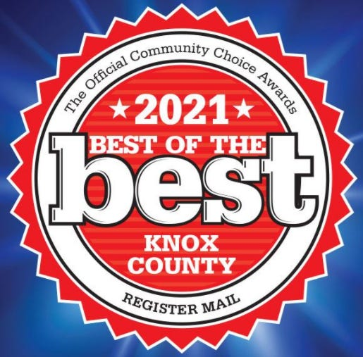 2021 Best of Knox County communities choice awards