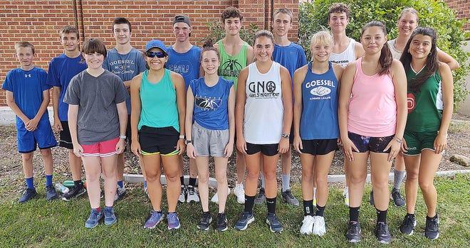The 2021 Goessel High School cross country team.