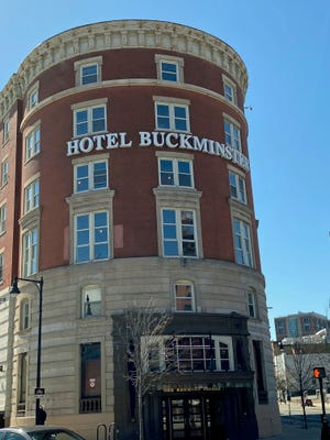 """The Hotel Buckminster at the corner of Beacon Street and Brookline Avenue in the Fenway was built in 1897. It was one of Boston's first hotels and at one time, was the largest building in Kenmore Square. On Sept. 19, 1919 it was where bookmaker Joe """"Sport"""" Sullivan went to help arrange what was to become the Black Sox scandal. During World War II, a portion of the hotel was used to hold Italian prisoners of war. At one time, it was also home to WNAC TV and radio. In the 1950s, it was home to the Storyville jazz club where many famous musicians such as Louis Armstrong, Charlie Parker and Billie Holiday performed."""