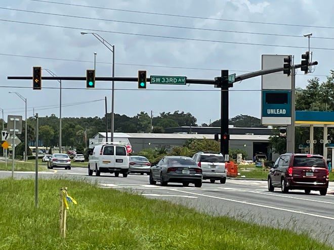 The fatal traffic crash happened at West Silver Springs Boulevard and Southwest 33rd Avenue in Ocala.