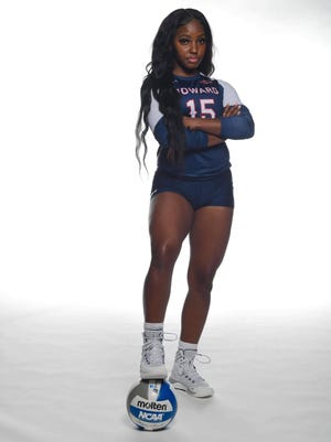 Essence Bell, a standout athlete at every level, hopes to continue her success at Howard University.