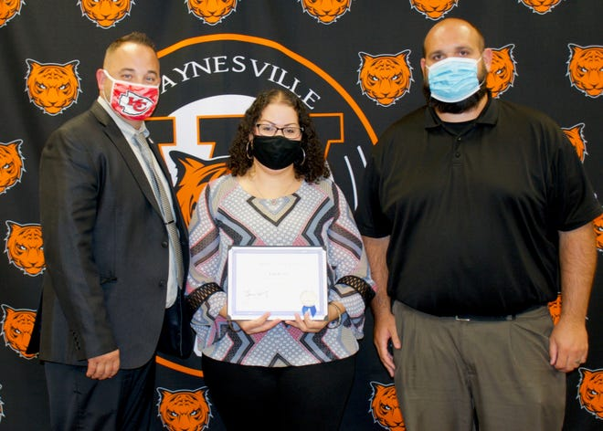 Dr. Billy Cobb, Ana Perez and Ryan Murphy.