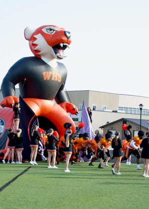 Waynesville High School hosted the fall edition of Meet the Tiger, where the Waynesville High School Football Team played scrimmages at Tiger Stadium, Aug. 19.