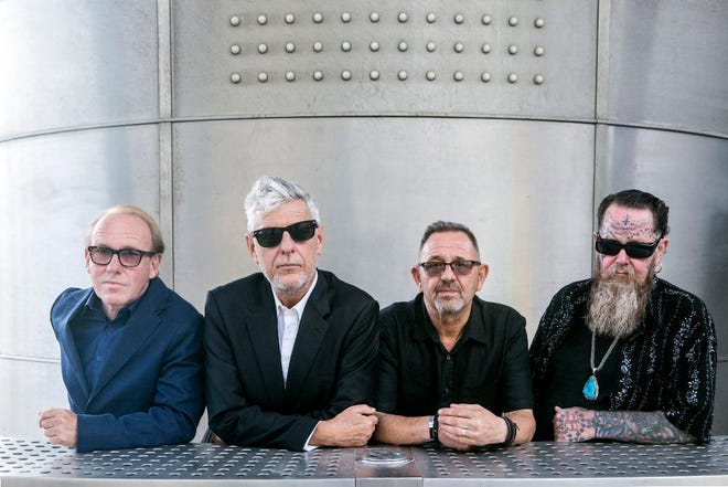 Originally scheduled to perform Sept. 4, 2021, at The Acorn in Three Oaks, the 1980s band Modern English announced Aug. 25, 2021, that it had canceled its entire U.S. tour in an effort to keep itself, its crew and its fans safe.