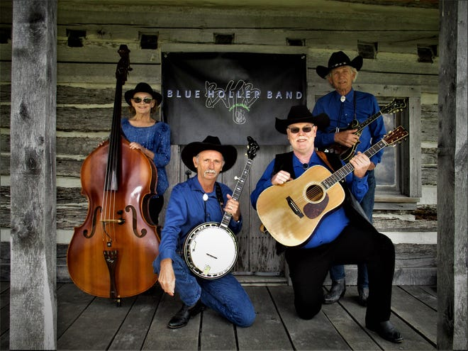 The Northern Indiana-based Blue Holler Band will perform Sept. 4, 2021, at Potato Creek State Park in North Liberty.